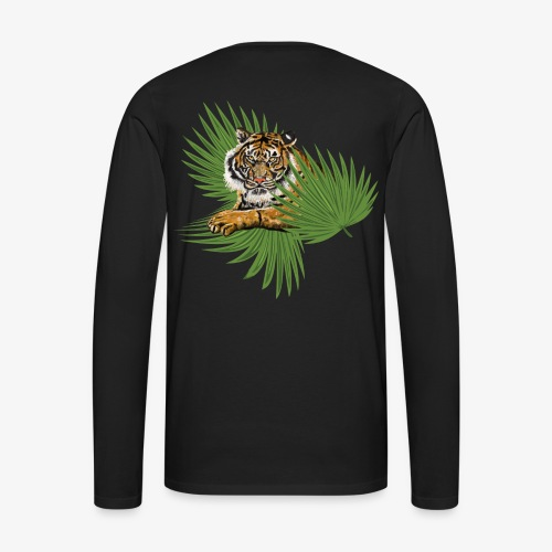 Relaxed Tiger - Men's Premium Long Sleeve T-Shirt
