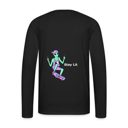 Stay Lit 2 - Men's Premium Long Sleeve T-Shirt