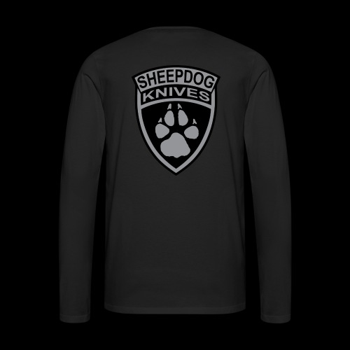 SheepDog Knives Logo - Men's Premium Long Sleeve T-Shirt