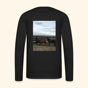 Support the Flintstone Family - Men's Premium Long Sleeve T-Shirt