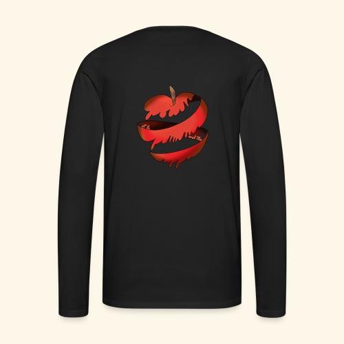 Logo designed by/conceptualisé par Francesca Pang - Men's Premium Long Sleeve T-Shirt