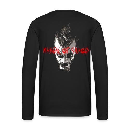 Maker of Chaos - Men's Premium Long Sleeve T-Shirt