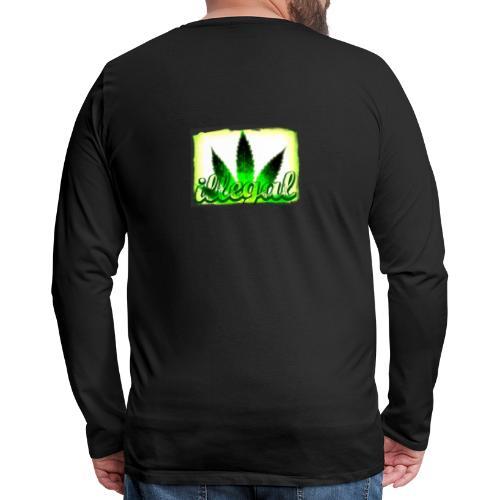 illegal - Men's Premium Long Sleeve T-Shirt