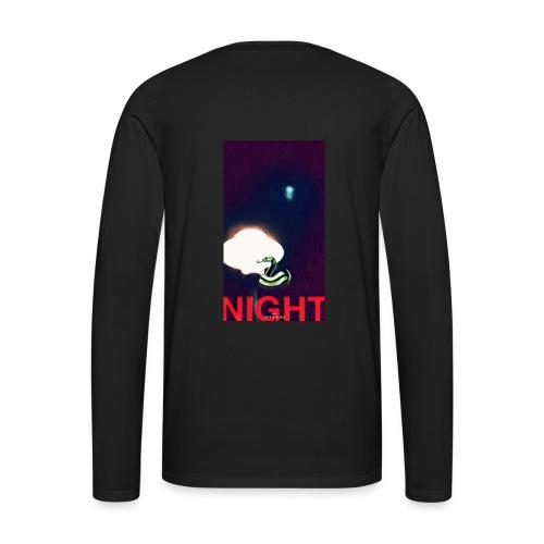 NIGHTLIGHT - Men's Premium Long Sleeve T-Shirt
