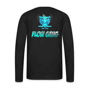 Flow Gang With So Fly Official Logo - Men's Premium Long Sleeve T-Shirt