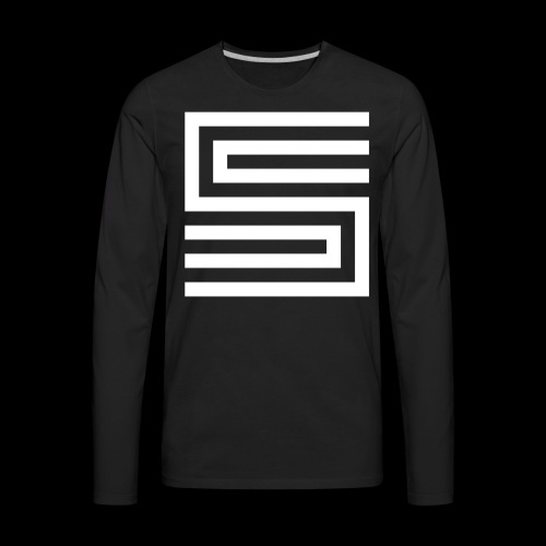 Silva Hound Logo - Men's Premium Long Sleeve T-Shirt