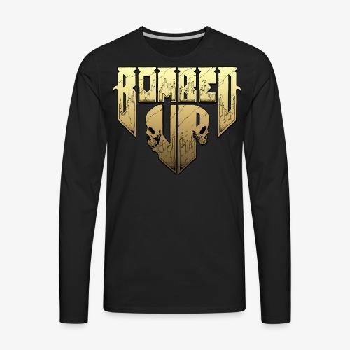 Bombed Up logo - Men's Premium Long Sleeve T-Shirt