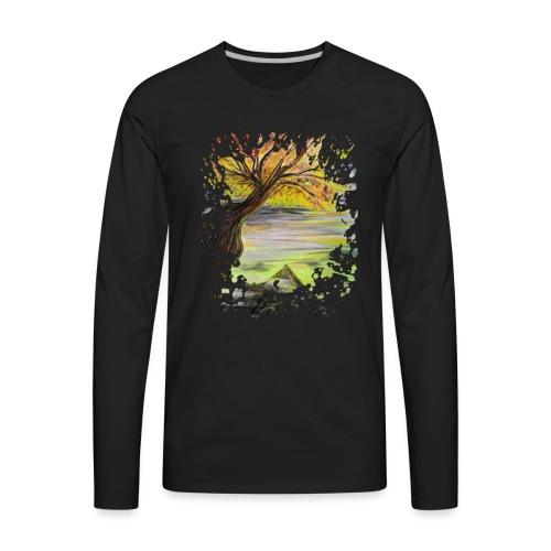 Over Looking Tree - Men's Premium Long Sleeve T-Shirt