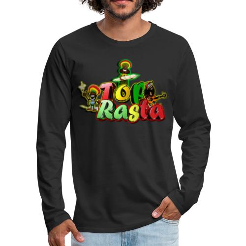 Top Rasta T Shirts copy - Men's Premium Long Sleeve T-Shirt