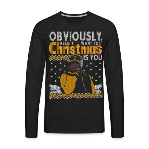 2018_all I want - Men's Premium Long Sleeve T-Shirt