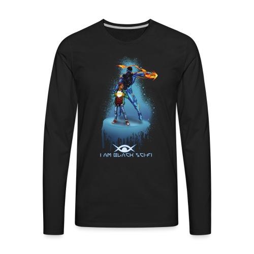 Two Tone Eclipx Hoodie - Men's Premium Long Sleeve T-Shirt