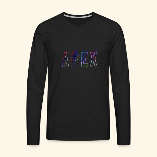 APEX RAINBOW DESIGN - Men's Premium Long Sleeve T-Shirt