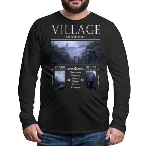 Los Iluminados Village 2 - Men's Premium Long Sleeve T-Shirt