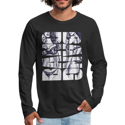 BANG BANG sexy Pin Up Girl 2reborn 02 - Men's Premium Long Sleeve T-Shirt