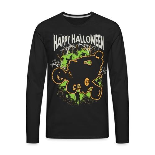 ATV Quad Happy Halloween - Men's Premium Long Sleeve T-Shirt