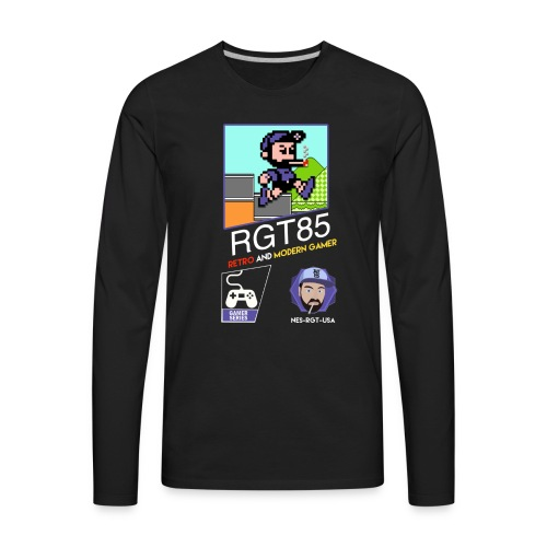 rgt blackbox shirt 2 png - Men's Premium Long Sleeve T-Shirt