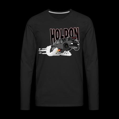 HOLDON HT PREMIER DESIGN - Men's Premium Long Sleeve T-Shirt