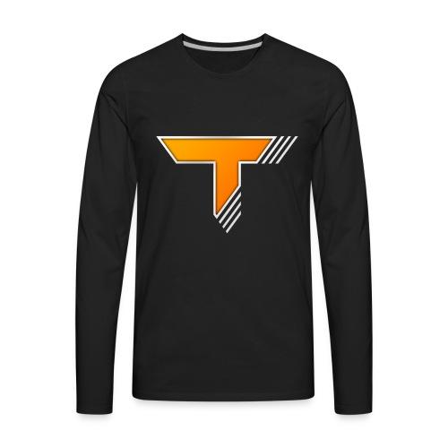 Thrash LOGO - Men's Premium Long Sleeve T-Shirt