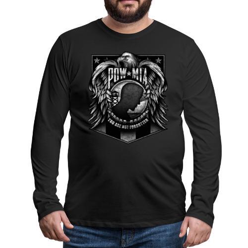 POW MIA - Men's Premium Long Sleeve T-Shirt