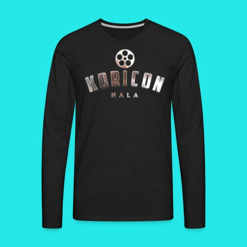Koricon Nala T-Shirt Logo Crop - Men's Premium Long Sleeve T-Shirt