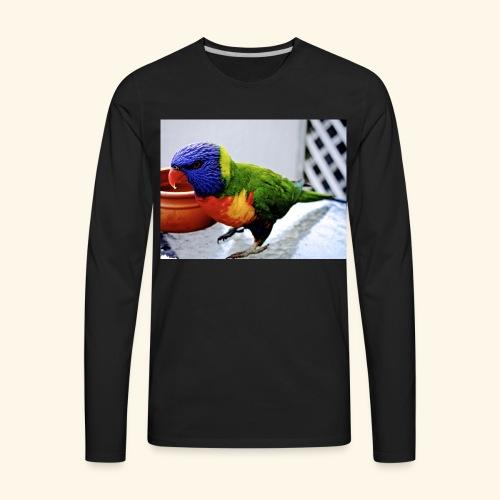 amazing bird - Men's Premium Long Sleeve T-Shirt