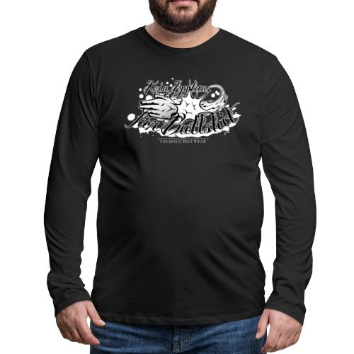 No applause for Bullshit - Men's Premium Long Sleeve T-Shirt
