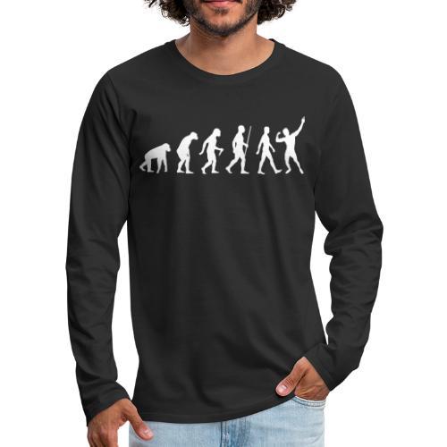 Evolution of Zyzz - Men's Premium Long Sleeve T-Shirt