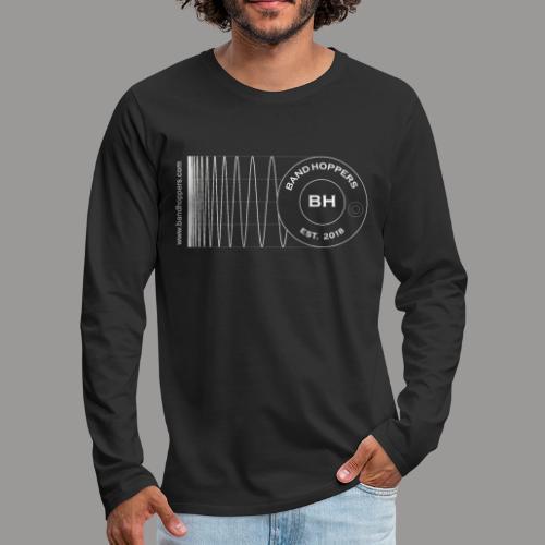 BandHoppers Logo #1 - Men's Premium Long Sleeve T-Shirt