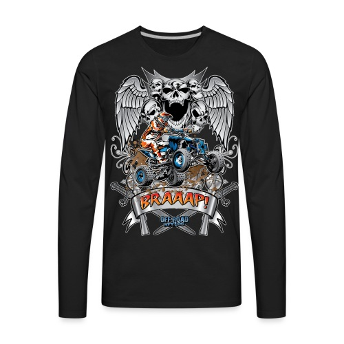 Offroad Styles Quad Shirt - Men's Premium Long Sleeve T-Shirt