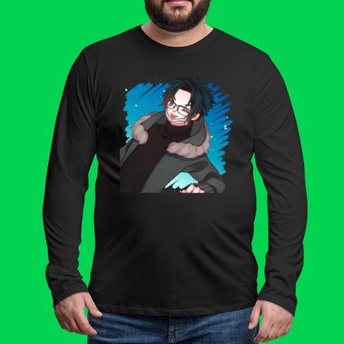 Mr no name guy. - Men's Premium Long Sleeve T-Shirt