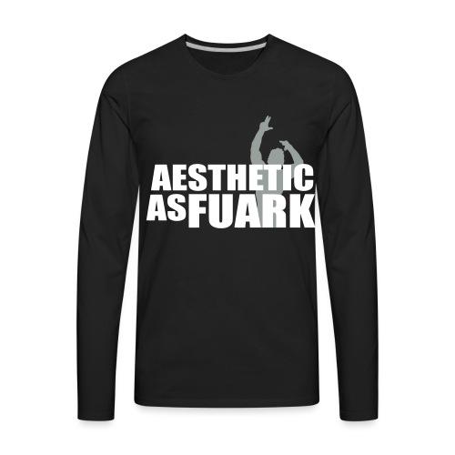 Zyzz Aesthetic as FUARK - Men's Premium Long Sleeve T-Shirt