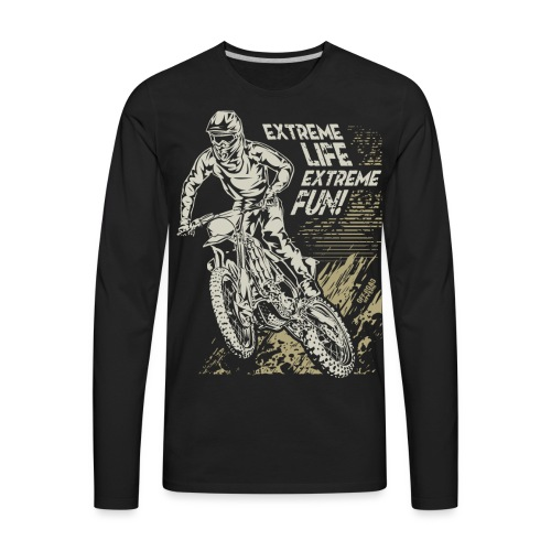 Extreme Enduro Life - Men's Premium Long Sleeve T-Shirt