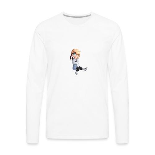 Martial Art Master Waifu Pancakes - Men's Premium Long Sleeve T-Shirt