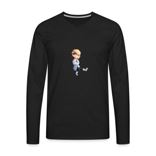 Martial Art Master Waifu Pancakes - Men's Premium Long Sleeve T-Shirt