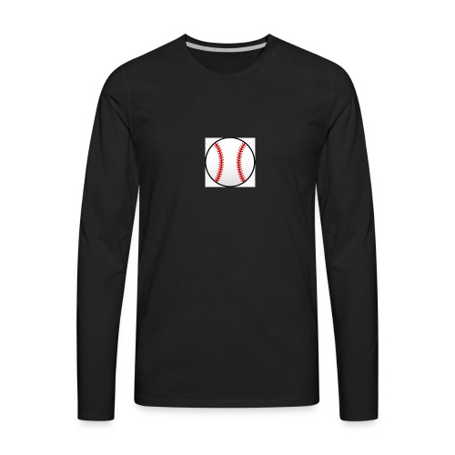 baseball shirt - Men's Premium Long Sleeve T-Shirt