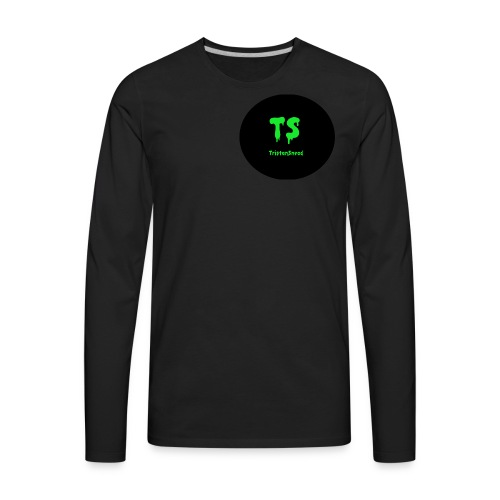 Tristan Snead Zombie Logo - Men's Premium Long Sleeve T-Shirt