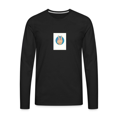 ap 550x550 12x16 1 transparent t u2 - Men's Premium Long Sleeve T-Shirt