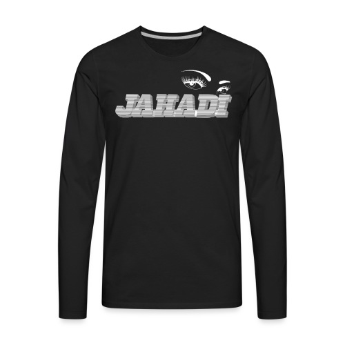 hadilogoWHITE - Men's Premium Long Sleeve T-Shirt