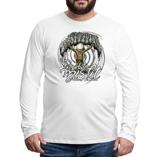proud to misfit - Men's Premium Long Sleeve T-Shirt