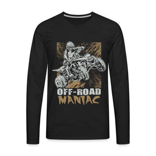 ATV Quad Stunt Mania - Men's Premium Long Sleeve T-Shirt