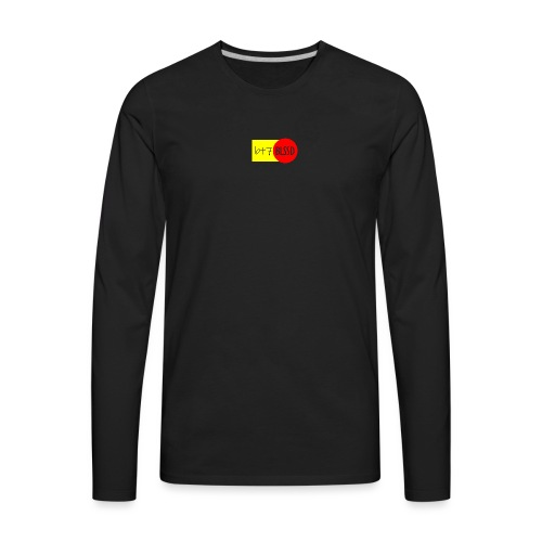 B+7 BLSSD FORMULA YELLOW RED - Men's Premium Long Sleeve T-Shirt