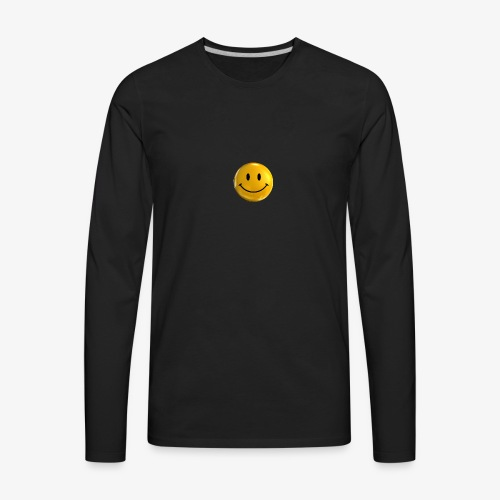 Smile Pin - Men's Premium Long Sleeve T-Shirt