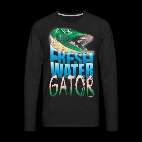 Gator - Men's Premium Long Sleeve T-Shirt