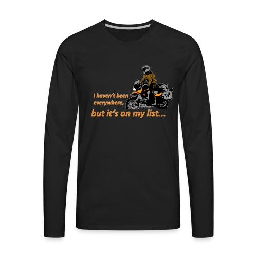 Dualsport it's on my list (for darkcolored shirts) - Men's Premium Long Sleeve T-Shirt