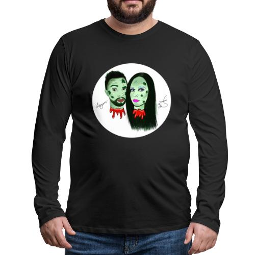 Taylor Angus Zombies - Men's Premium Long Sleeve T-Shirt