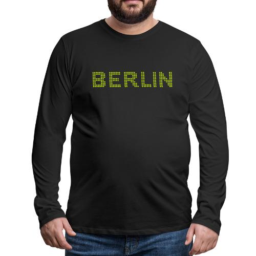 Berlin dots-font - Men's Premium Long Sleeve T-Shirt