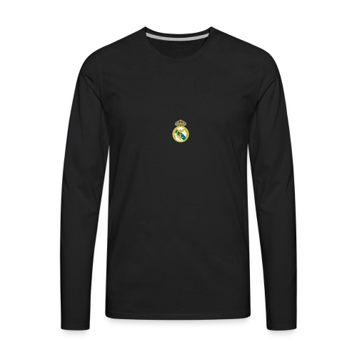 Real Madrid logo 256 1 - Men's Premium Long Sleeve T-Shirt