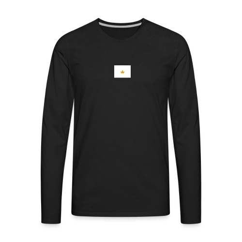 the crown - Men's Premium Long Sleeve T-Shirt
