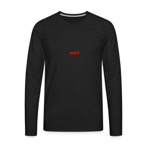 MCN Logo - Men's Premium Long Sleeve T-Shirt