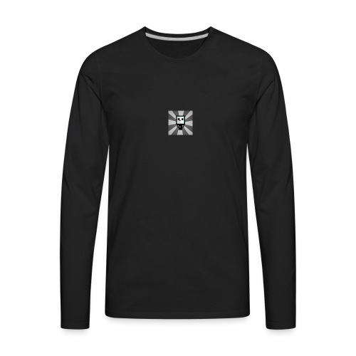 Official HyperShadowGamer Shirts - Men's Premium Long Sleeve T-Shirt